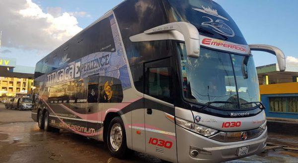 Bus Puno – Copacabana