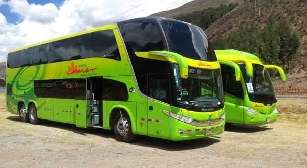 Route of the Sun: Bus with touristic stops. Puno – Cusco
