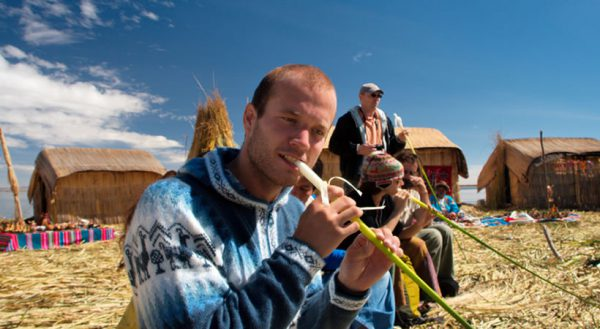 Kayaking Uros islands connection whit Taquile island (Full day) / Private service
