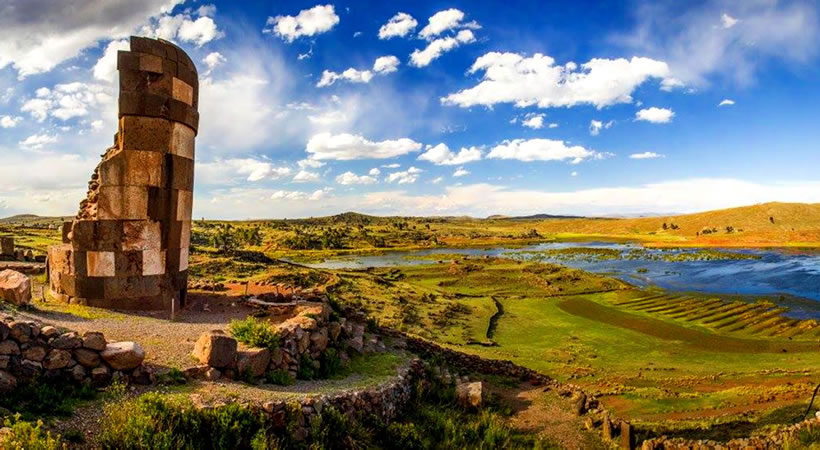 Tours to the Chullpas of Sillustani: (Half day) / Collective service
